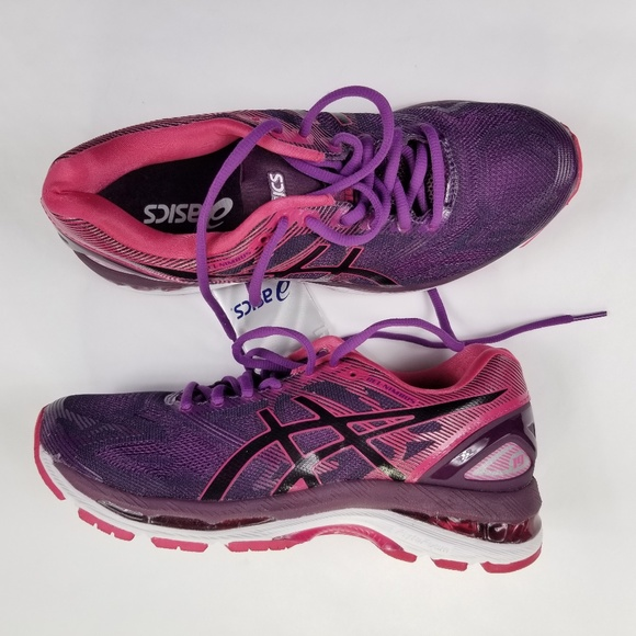 innovative design 7cacc 43c95 Asics Gel-Nimbus 19 Black Cosmo Pink Size 8 New NWT